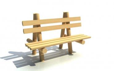 Lavica  drevená , dĺžka  1,5 m - L3
