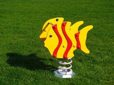 Húpačka na pružine MP - ryby červené - MP