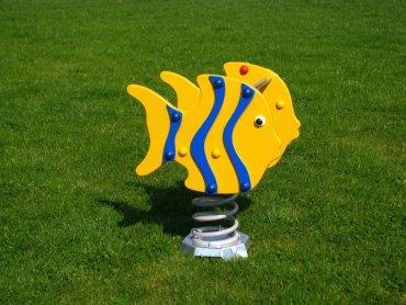 Húpačka na pružine MP - ryby modré - MP