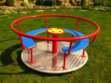 Kolotoč pre cca 5-6 detí s lavicou na sedenie - K2