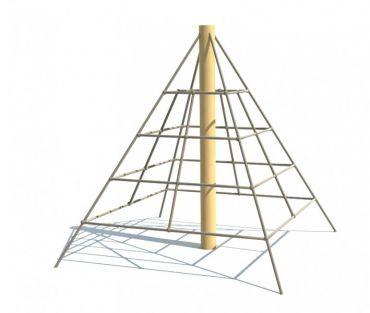 Lanová pyramída REVO - MINI, pádová výška 1,0 m - S8