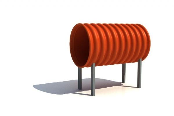Tunel krátky DN 500 dĺžka 1000mm