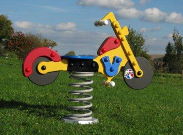 Húpačka na pružine MP - motorka - MP